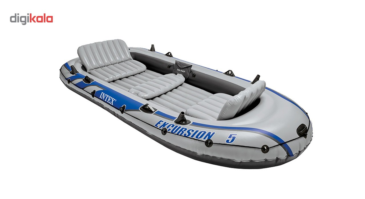 img قایق بادی اینتکس مدل Excursion5 Intex Excursion5 Inflatable Boat