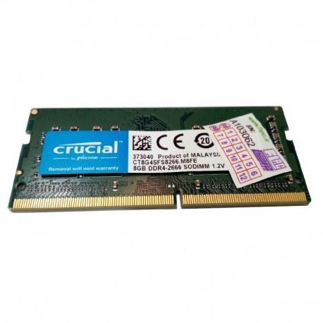 رم لپ تاپ 8 گیگابایت کروشیال Crucial Laptop Ram 8GB DDR4 2666