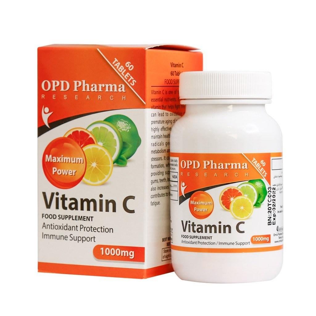 تصویر ویتامین ث 1000 میلی گرم ماکسیمم پاور او پی دی فارما vitamin_c