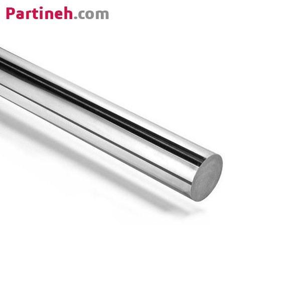 تصویر شفت هارد کروم (شفت راهنما) برند ASSO ساخت رومانی قطر 5mm ا ASSO Hardened And Hard Chrome 5mm Linear Shaft ASSO Hardened And Hard Chrome 5mm Linear Shaft
