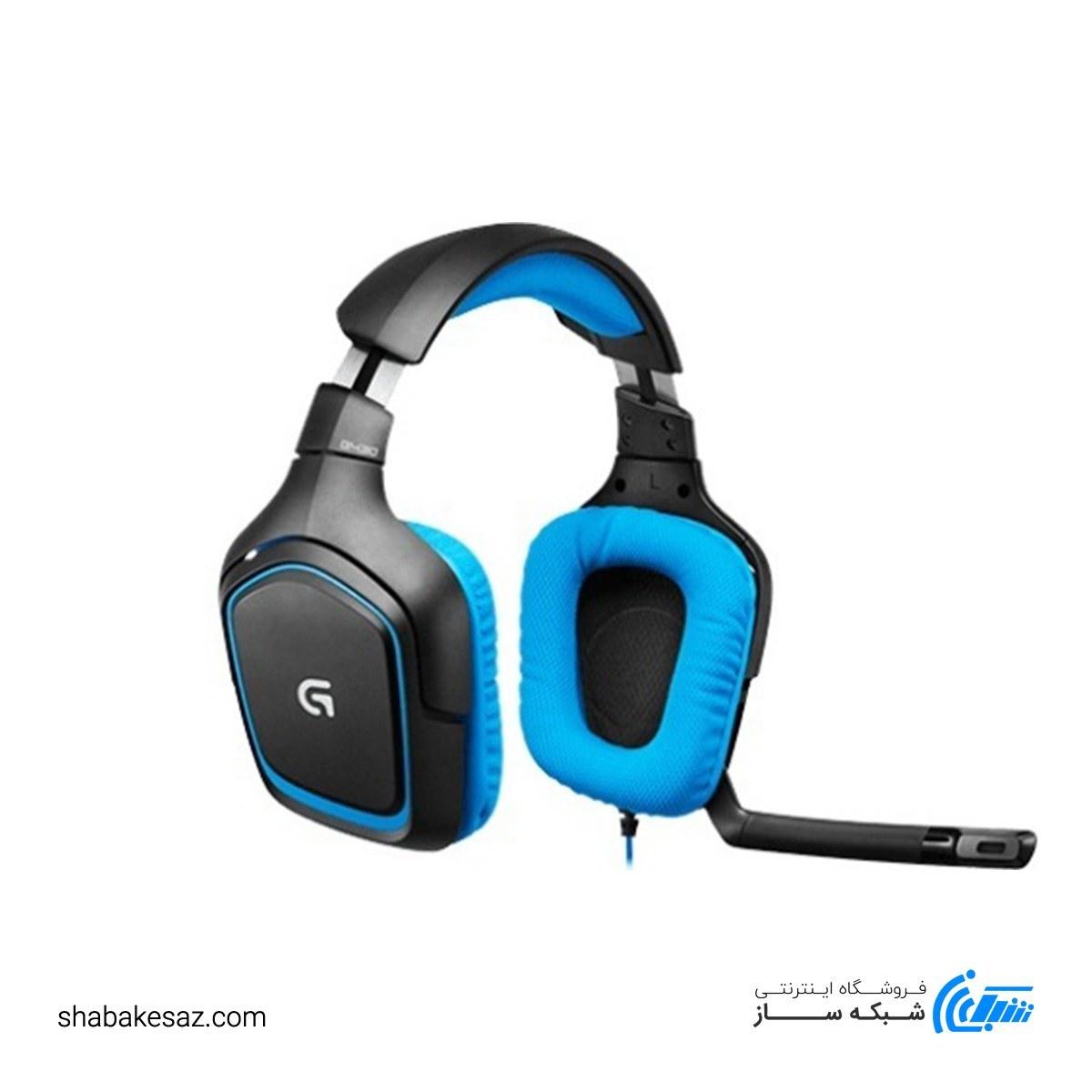 تصویر هدست مخصوص بازی لاجیتک مدل G430 ا Logitech G430 7.1 Surround Sound Gaming Headset Logitech G430 7.1 Surround Sound Gaming Headset
