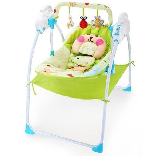 گهواره و تاب برقی کودک