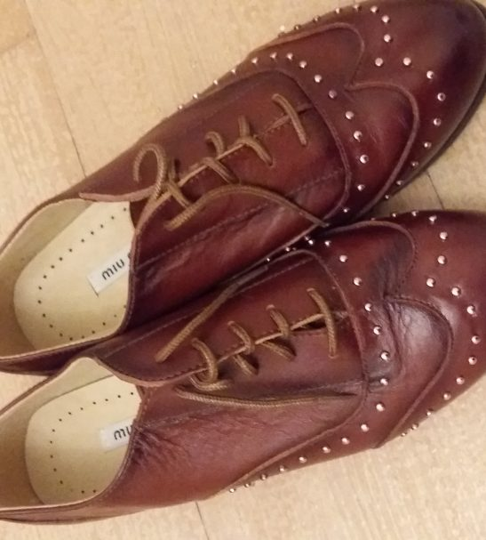 کفش چرم زنانه ترک سایز 39