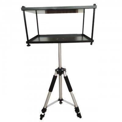 تصویر میز سه پایه دار دو طبقه ویدئو پروژکتور