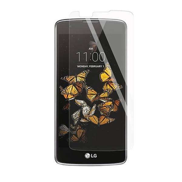 تصویر گلس شیشه ای گوشی LG K8