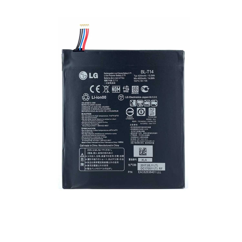 تصویر باتری تبلت ال جی LG G Pad 8.0 با کد فنی BL-T14