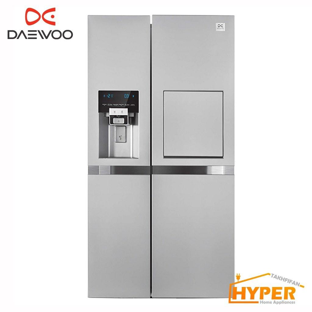 main images ساید بای ساید دوو مدل D4s-0037 Daewoo D2S-0037 Side By Side Refrigerator