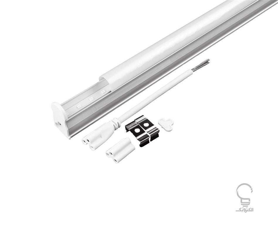 تصویر لامپ LED خطی زیرکابینتی بدنه آلومینیوم T5 و 5 وات سان لوکس