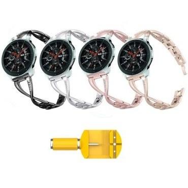 بند ساعت سامسونگ Galaxy Watch 46mm مدل استیل X-Link | Samsung Galaxy Watch 46mm Steel X-Link Band