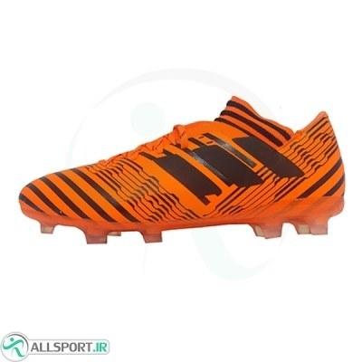 کفش فوتبال آدیداس نمزیز طرح اصلی نارنجی Adidas Nemeziz