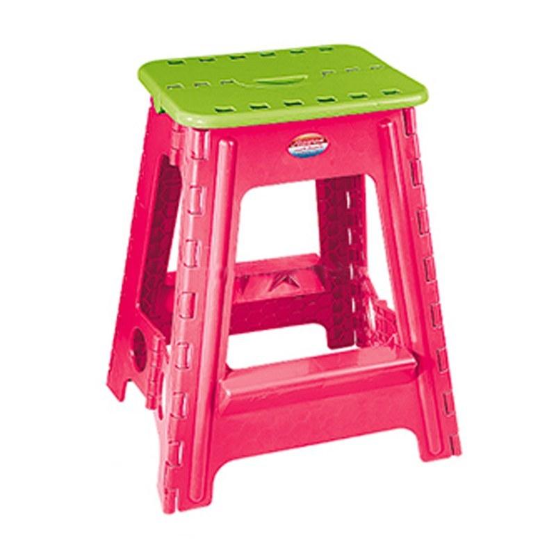 عکس چهارپایه تاشو 4 کد 518 ناصر پلاستیک  چهارپایه-تاشو-4-کد-518-ناصر-پلاستیک
