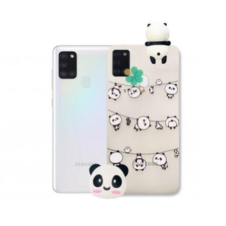 تصویر قاب فانتزی گوشی سامسونگ Samsung Galaxy A21s مدل Panda ا Panda Pattern Case for Samsung Galaxy A21s Panda Pattern Case for Samsung Galaxy A21s