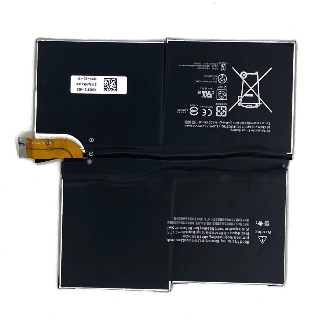 تصویر باتری سرفیس پرو 3   قیمت و مشخصات باتری surface pro 3
