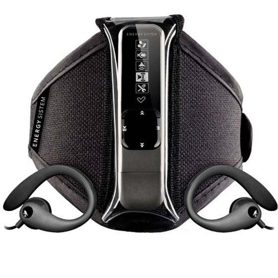 تصویر انرژي سيستم اسپورت 1608 دارک آيرون - 8 گيگابايت Energy Sistem  Energy MP3 Sport 1608 Dark Iron - 8GB