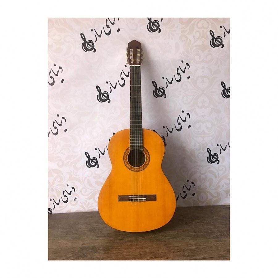 تصویر گیتار کلاسیک yamaha یاماها C40 اصل اندونزی در حد آکبند