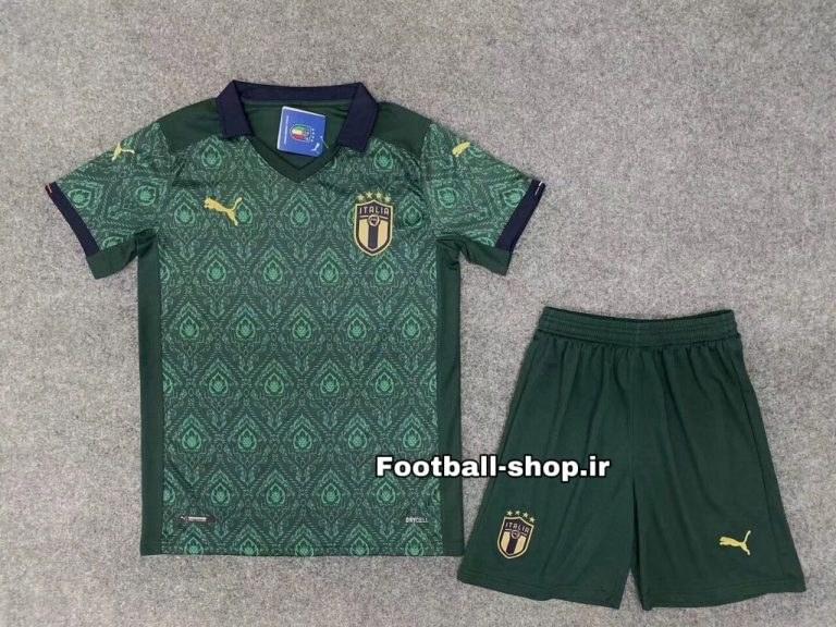 تصویر پیراهن وشورت سوم آستین کوتاه اورجینال یورو 2021 ایتالیا-Puma