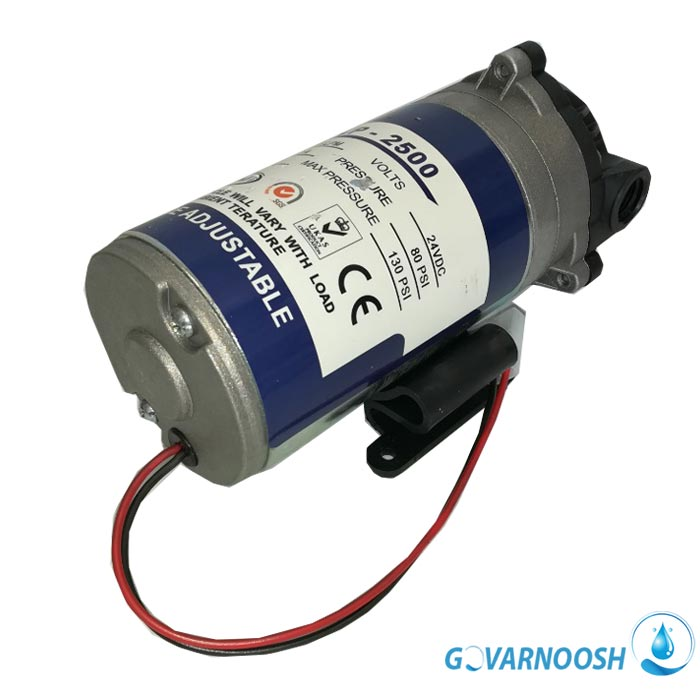 تصویر پمپ دستگاه تصفیه آب خانگی