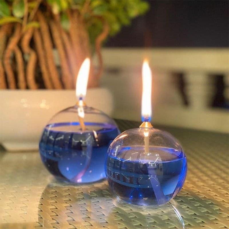 تصویر شمع روغنی مدل دراپ