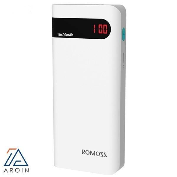 تصویر شارژر همراه روموس مدل Sense 4P با ظرفیت 10000 میلیآمپرساعت Romoss Sense 4P 10000mAh Power Bank
