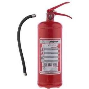 کپسول آتش نشانی پودری شش کیلوگرمی سپهر |