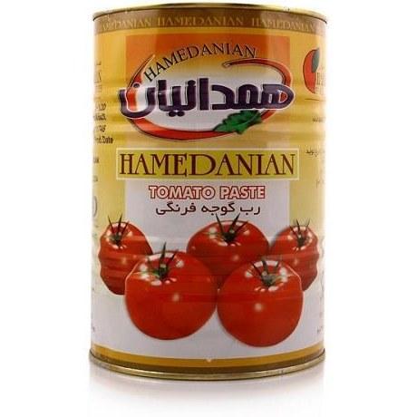 تصویر رب گوجه فرنگی همدانیان 4/500 کیلو گرمی