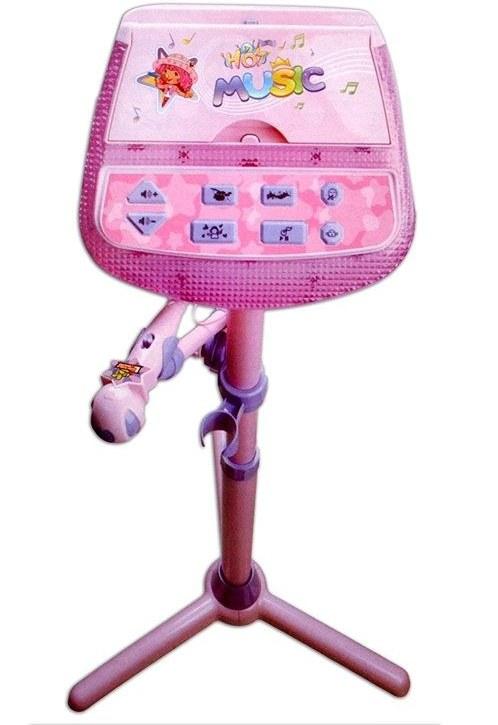 اسباب بازی میکروفن پایه دار برای کودکان ساخت شرکت Buddy Fun |