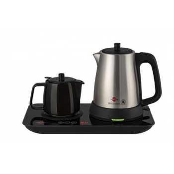 تصویر چای ساز 2 کاره پارس خزر مدل گرمنوش ا Pars Khazar Garmnoosh Tea Maker Pars Khazar Garmnoosh Tea Maker