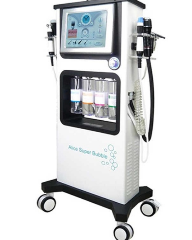 تصویر دستگاه سوپرفیشیال اکسیژنو 7 هندپیس فوق حرفه ای ا 7in1 Oxygeno Super Facial Skin Care Professional 7in1 Oxygeno Super Facial Skin Care Professional