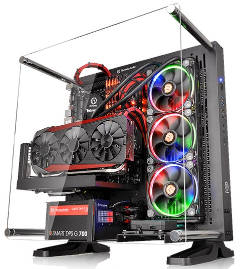 کیس ترمالتیک مدل Core P۳ | Thermaltake Core P3 ATX Wall-Mount Mid Tower Case