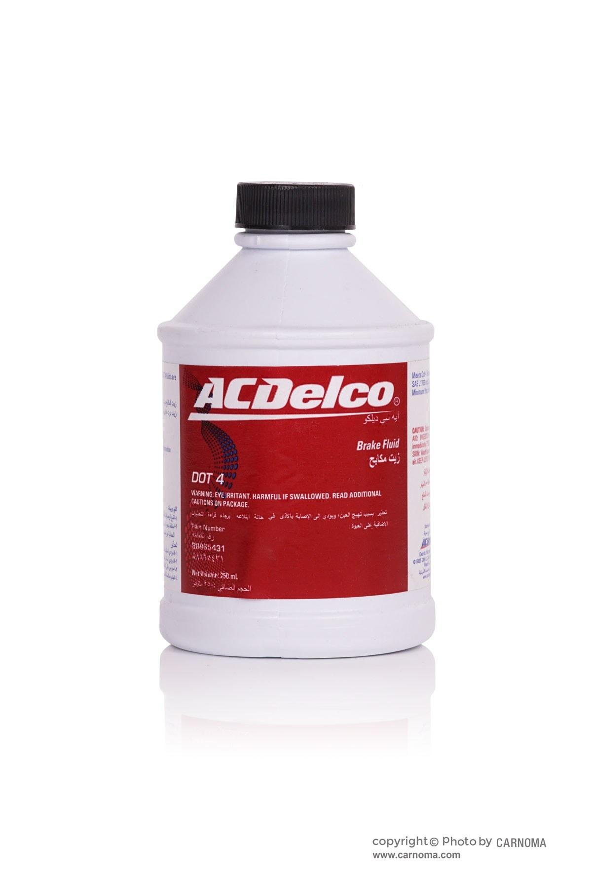 تصویر روغن ترمز ای سی دلکو DOT4 حجم 250 میلی لیتر Acdelco DOT4 Brake Fluid 250ml