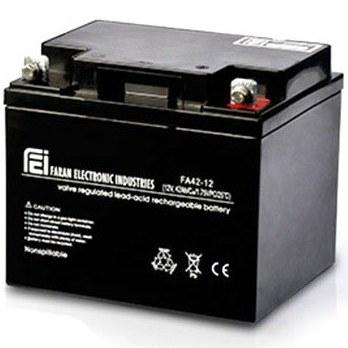 تصویر باتری یو پی اس فاران ۱۲ ولت ۴۲ آمپر ساعت Faran 12V-42AH UPS Battery
