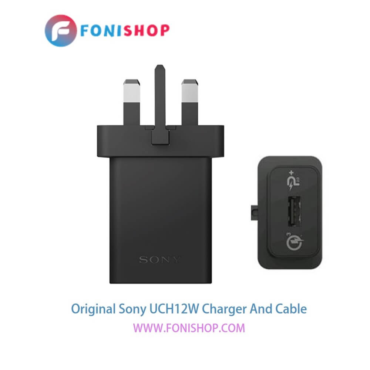 تصویر کابل و شارژر فست شارژ اصلی سونی Sony UCH12W