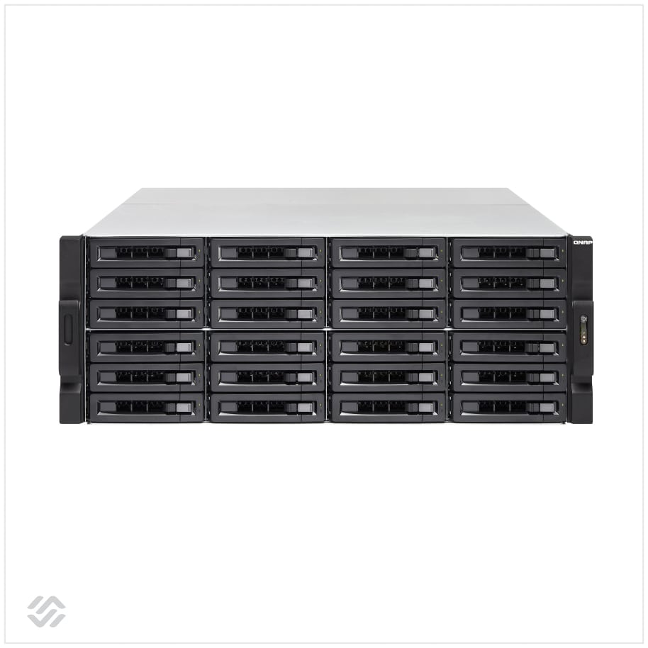 تصویر ذخیره ساز تحت شبکه کیونپ TVS-2472XU-RP – i5 – 8GB