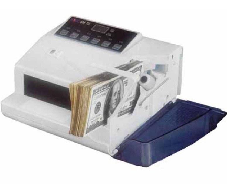 تصویر دستگاه اسکناس شمار اس ام بی مدل اس ام 70 اسکناس شمار اس ام بی SM70 Money Counter