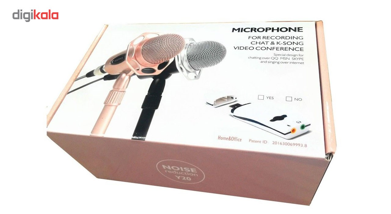 img میکروفون ینمای مدل Y20 Yanmai Y20 Studio Microphone