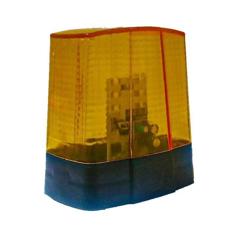 تصویر لامپ فلاشر و چراغ سر درب 24 ولت مخصوص درب پارکینگ ا Flasher Automatic Door - Model 24V Flasher Automatic Door - Model 24V