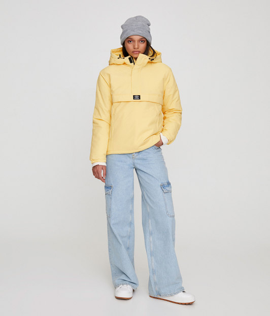 سویی شرت و هودی پول اند بیر با کد 9714/303/300 ( Basic coloured jacket with a pouch pocket )