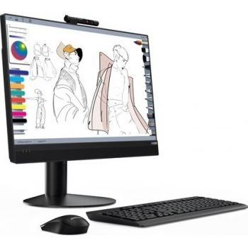 main images کامپیوتر همه کاره 23.8 اینچی لنوو مدل All-in-One Lenovo Think Centre M920z AIO Lenovo Think Centre M920z AIO i7-9700, 8GB Ram, DDR4 1TB HDD, Integrated Graphics 23.8″ FHD Multi-Touch, Win10 Pro 64 - Black