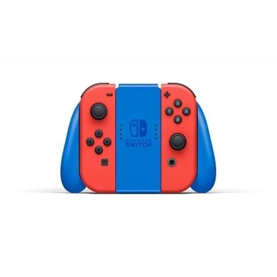 تصویر کنسول بازی نینتندو سوییچ مدل Mario Red and Blue