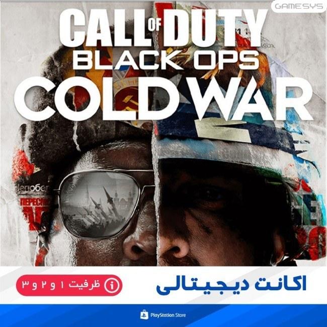 تصویر خرید اکانت قانونی بازی Call of Duty: Black Ops Cold War برای PS4 اکانت ظرفیتی بازی  Call of Duty: Black Ops Cold War مخصوص PS4