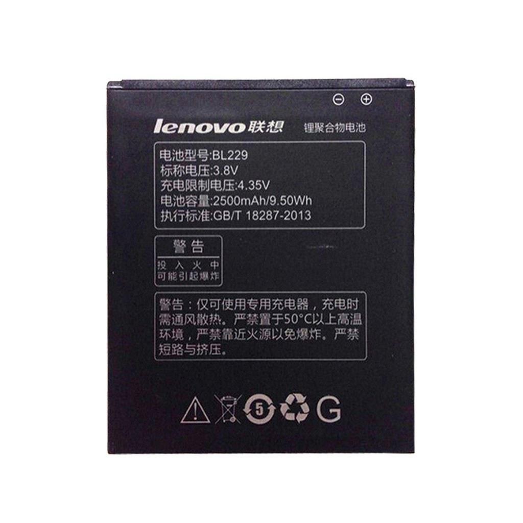 تصویر باتری اورجینال لنوو BL229 ظرفیت 2500 میلی آمپر ساعت Lenovo BL229 2500mAh Original Battery