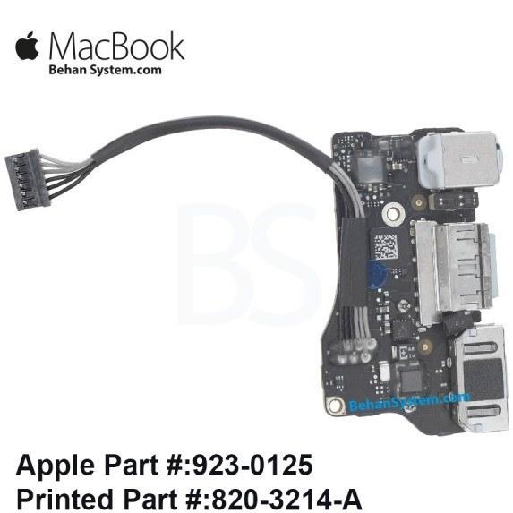 تصویر برد پاور مک بوک ایر A1466 سیزده اینچ تولید سال 2012