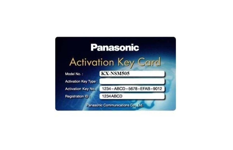 لایسنس داخلی IP سانترال پاناسونیک KX-NSM505