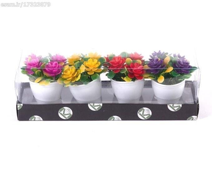 پکیج چهار عددی گلدان دکوری