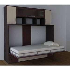 پک جک و فریم افقی یک نفره 200×90 تخت خواب تاشو اچ تی ام | HTM Horizontal Single