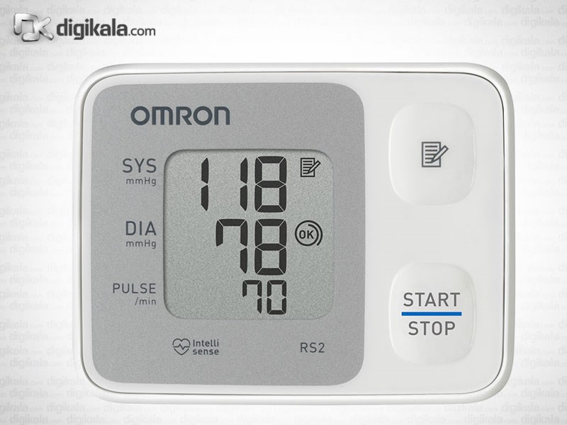 img فشارسنج مچی امرن مدل RS2 Omron RS2 Blood Pressure Monitor