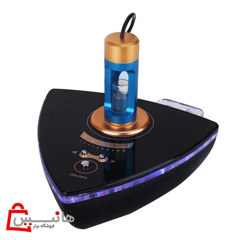 تصویر دستگاه RF دوقطبی اوزون تراپی صورت نانو میست اسپریر نور آبی (Blue Light)