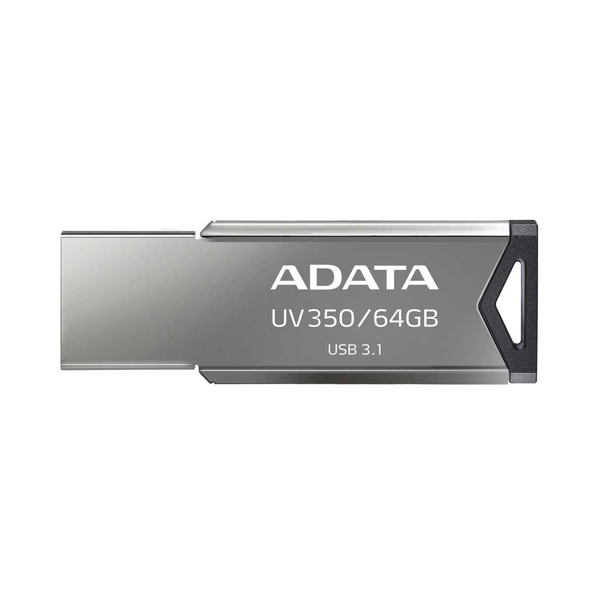 تصویر فلش مموری ۶۴ گیگابایت Adata مدل UV350 Adata UV350