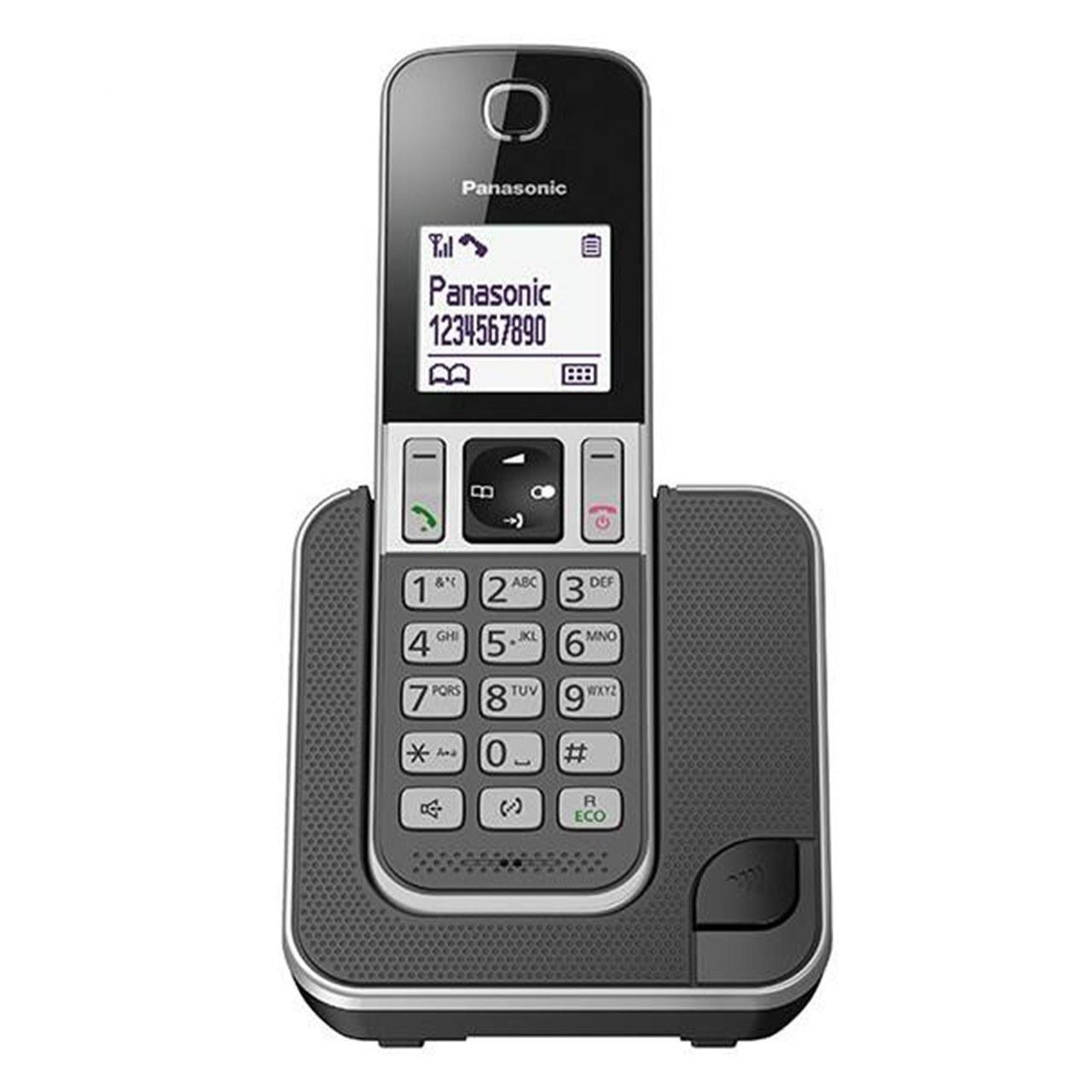 تصویر گوشی تلفن بیسیم پاناسونیک KX-TGD310 ا Panasonic KX - TGD310 Wireless Phone Panasonic KX - TGD310 Wireless Phone
