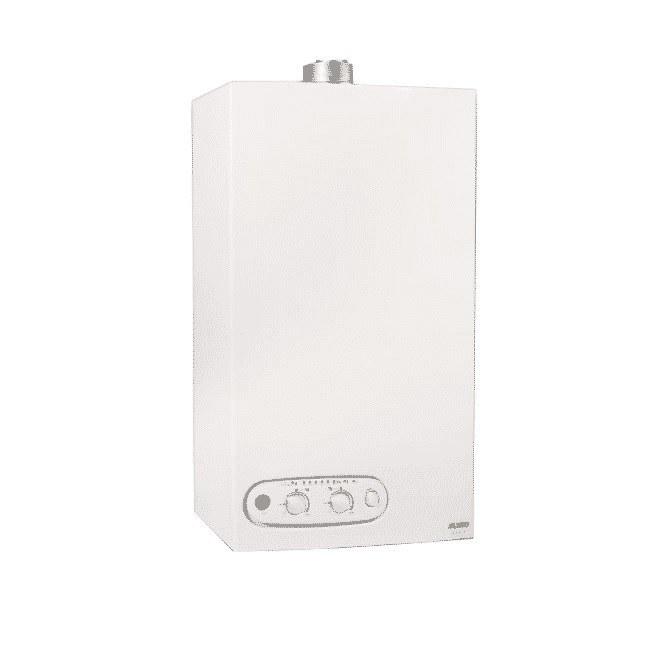 تصویر پکیج دیواری ایران رادیاتور 22000 مدل ECO22FF - دو مبدل پکیج گرمایشی شوفاژ دیواری ایران رادیاتور 22000 دومبدله فن دار مدلECO22FF